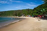 Barracas da praia da Tartaruga