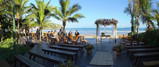 Espelho das Águas, na praia de Geribá, oferece lindo espaço