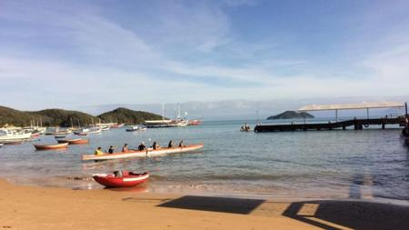 Atividades parte do praia do Canto