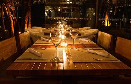 Espaço é perfeito para um romântico jantar a dois