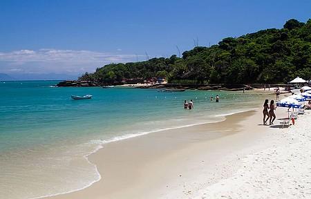 Praias ficam bem próximas uma da outra