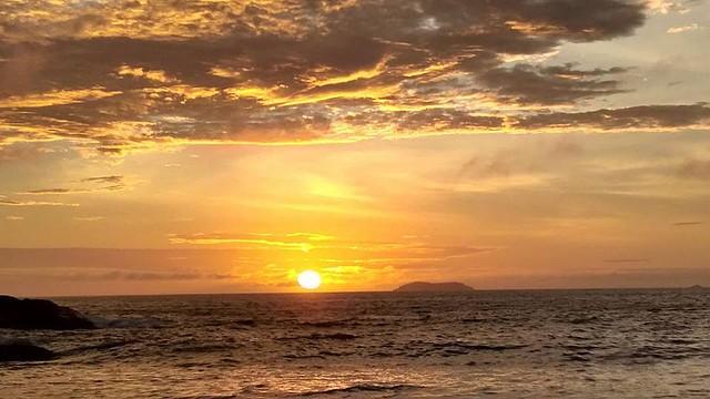 Pôr do sol faz parte do roteiro