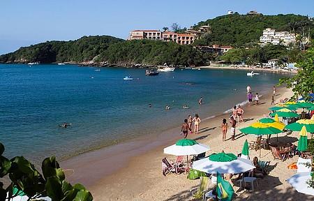 Praia é uma das preferidas dos argentinos